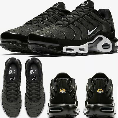 470eefce0079f7 NIKE AIR MAX PLUS Tn Black Sequoia MENS COMFY SHOES PREMIUM LIFESTYLE  SNEAKERS