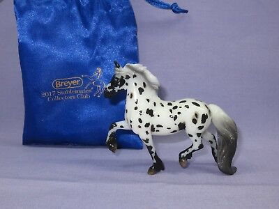 Breyer - #712216 Wolfgang - 2017 Stablemate Collector's Club - Glossy Appaloosa