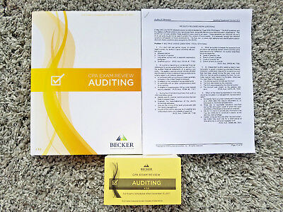 New 2018 becker cpa exam review audit aud v32flashcardsrq 05 18 new 2018 becker cpa exam review audit aud v32flashcards fandeluxe Choice Image