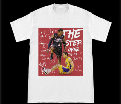 Philadelphia 76Ers The Step Over  Allen Iverson Stepping Over Tyronn Lue Shirt