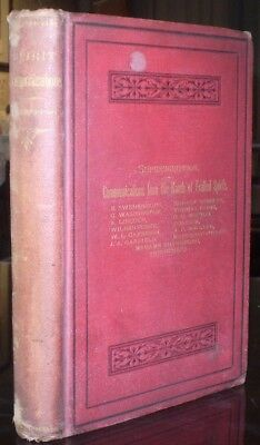 RARE, 1883, 1st Ed, A BOOK WRITTEN BY THE SPIRITS OF THE SO-CALLED DEAD, OCCULT