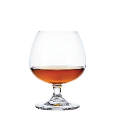 6x Brandy Glass 400ml Olympia Commercial Bar Cocktail Snifter Balloon Cognac