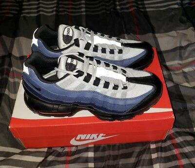 Nike Air Max 95 Essential Black Obsidian Navy Blue Running