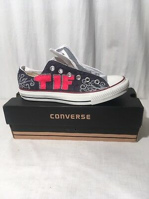 663ceb00a2dc Converse Chuck Taylor All Star UNISEX Graphic Low Top Sneakers ~SzMens 6  Women 8