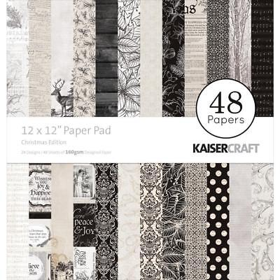 Kaisercraft Christmas Edition Paper Pad 12x12 48 Pages - Nini's Things