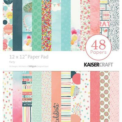 Kaisercraft Party Paper Pad 12x12 48 Pages - Nini's Things