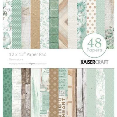 Kaisercraft Memory Lane Paper Pad 12x12 48 Pages - Nini's Things