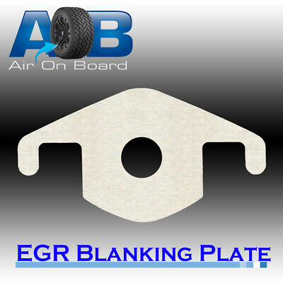 EGR Blanking Block Plate 202H for Mitsubishi Triton MN 3.2L TD 2007 on with hole