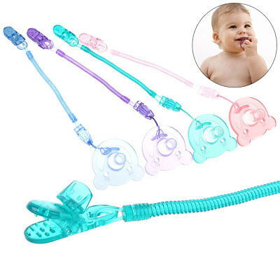 Food Grade Silicone Baby Pacifier Dummy Nipple Teether With Pacifier Chain Gift