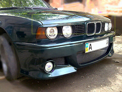 Eyebrows  Headlight for BMW E 34 sedan & touring (wagon) unpainted