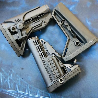 Tactical Nylon Buttstock For JinMing Gen8 M4A1 Gel Ball Blaster Toy Gun Accs