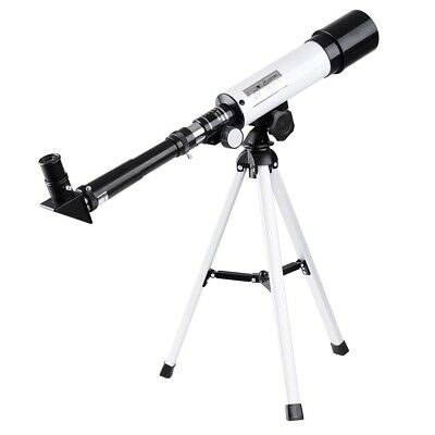 360x50mm Refractor Astronomical Telescope Eyepieces Tripod For Travel Wild
