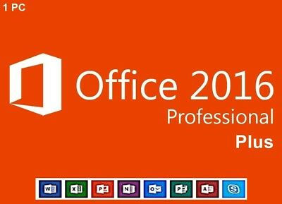 Microsoft Office Professional Plus 2016 Key MS Pro 2016 Sofort Versand Online