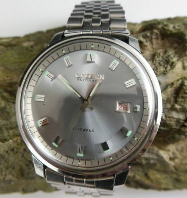Citizen Automatic Herrenuhr 62-6694 in Edelstahl