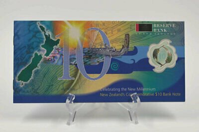 New Zealand - 2000 - $10 Millennium Note Presentation Pack - Red Serial Number