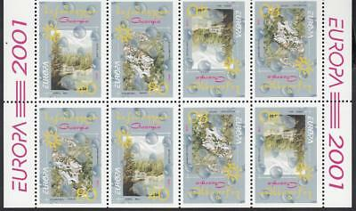 CEPT Georgia 2001 Mi 376-377 Sh  MNH ** Water sheetlet