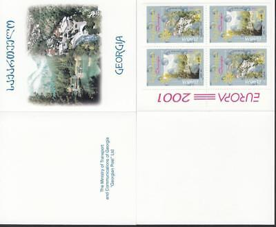 CEPT Georgia 2001 Mi 376-377 Book  MNH ** Water Booklet