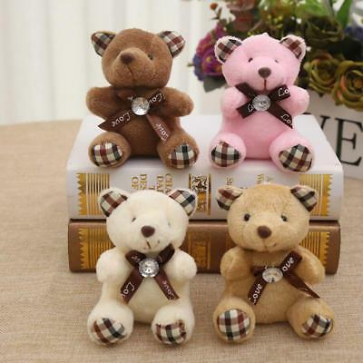 Teddy Bear Tie Plush Toy Wedding Party small gift child Cartoon Bouquets Dolls