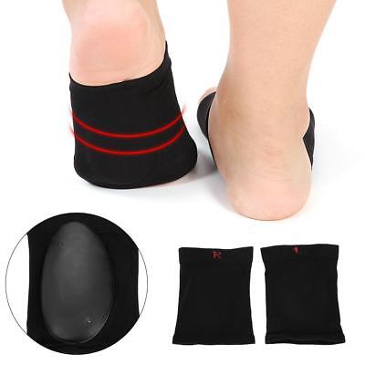 0f0768009c 2pcs Fallen Arch Support Cushions Flat Feet Foot Care Pain Relief Wrap Pads  LJ