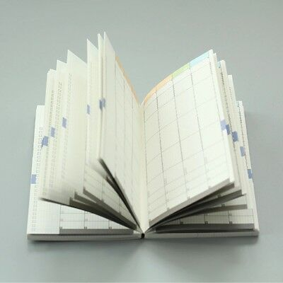 Undated Planner Inserts for A5 Hobonichi Pages Weekly Monthly Time Management