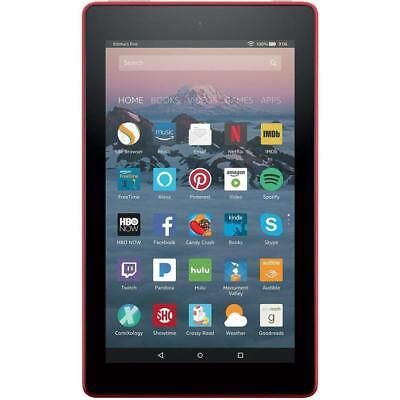 Amazon Kindle Fire 7 Tablet with Alexa! - 7th Gen 8GB RED