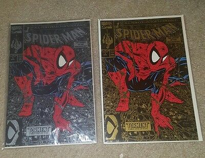 Spider-Man Collectors Issue Lot of 2