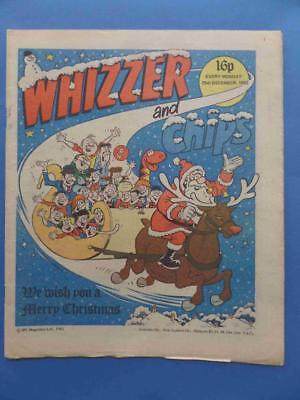 Whizzer & Chips 25.12.82 Merry Christmas Issue! Nice!!