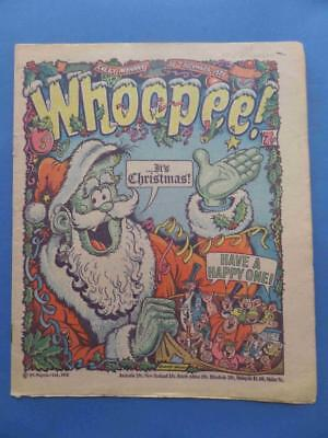 Whoopee! 25.12.76 Merry Christmas Issue! Nice!!