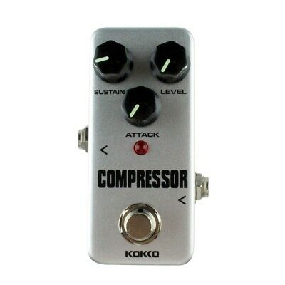 KOKKO High Quality FCP-2 Compressor Guitar Effect Pedal Mini Electric Bass E4N4