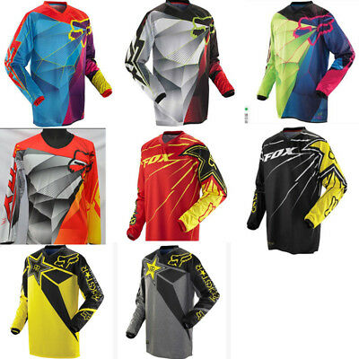Fox Racing Race Jersey Men's Motocross/MX/ATV/BMX/MTB Dirt Bike Adult 2017
