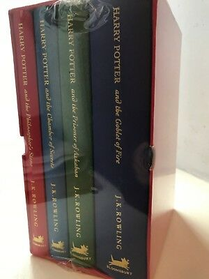 Harry Potter Series by Rowling 1st Edition Sealed Deluxe Collector's Set
