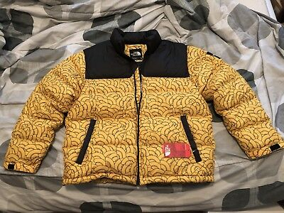 10acdc763 inexpensive the north face 1992 nuptse jacket tnf yellow dome print ...