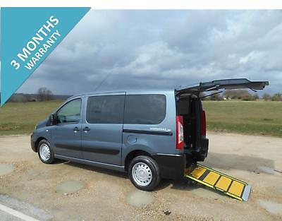 2012  Peugeot Expert Tepee Comfort  Hdi Wheelchair Accessible Disabled Minibus