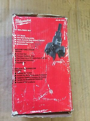 "Milwaukee Selfeed Bit 3"" Brand New"