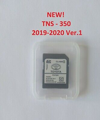 2018-2019! NEW TOYOTA TNS 350 NAVIGATION SD Card EUROPE 2018-2019 Ver.1