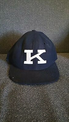 22eac4bdde3 New Era brand Kentucky Wildcats Black 59FIFTY Fitted Hat Power K size 7 used