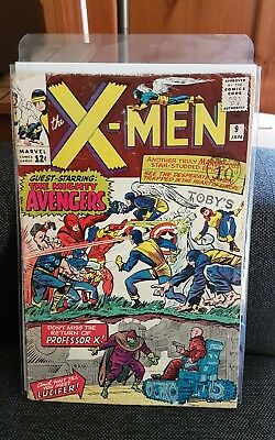 The X-men 9 vol 1 1963