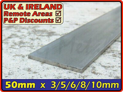 Stainless Steel Flat Bar ║ 50mm wide ║ marine,strip,section,profile,sheet