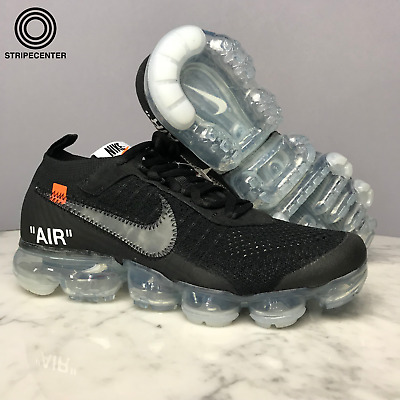 Off White x Nike Air VaporMax WhiteTotal Crimson Clear AA3831 100 For Sale