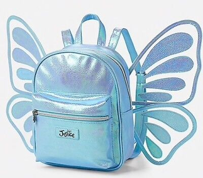 NWT Justice Butterfly Wing Mini Backpack! 🦋🦋🦋