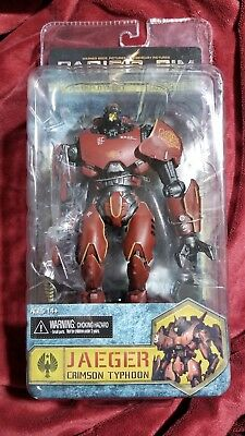 NECA MIP Pacific Rim Jaeger STRIKER EUREKA CRIMSON TYPHOON 2nd Deployment figure