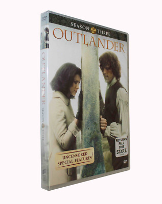 Outlander Season 3 (DVD, 2018, 5-Disc Set)brand new Free shipping