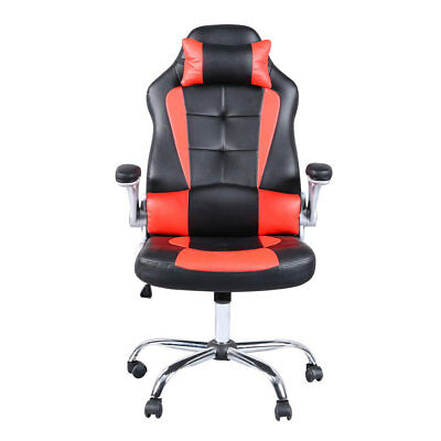 PU Leather Office Chair Ergonomic Racing Gaming Chair Swivel Computer Desk Chair