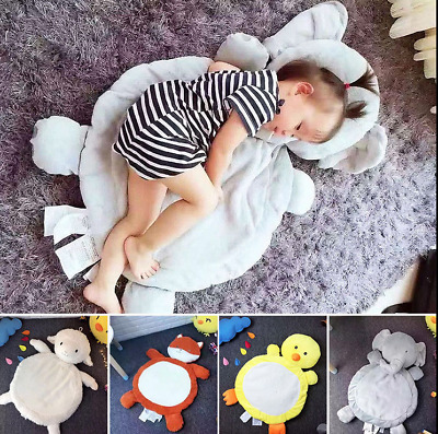 Children Toddler Animal Plush Crawling Blanket Baby Sleep Comfy Play Mat Carpet