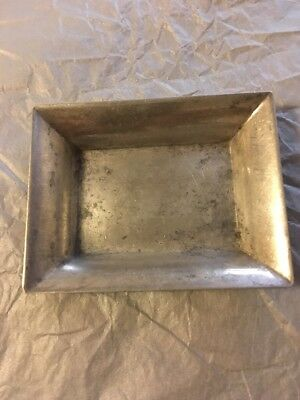 Vintage Stieff Sterling Silver Ashtray Butter Pat 41 Grams Single Marked 048