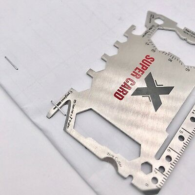 Wallet Ninja Novelty Gadget 46 in 1 Multi Tool Super Card Wedding Favours