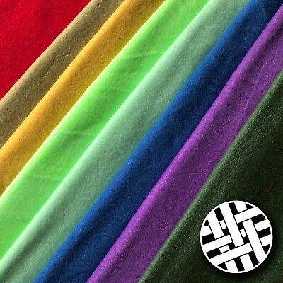 Polar Fleece Fabric 8 Colours - Sold by the Meter