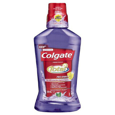 NEW Colgate Total Mouthwash Wintermint Rush 500ml