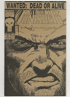 Punisher #57A  Double Cover  VF/NM  Marvel (2nd Series)