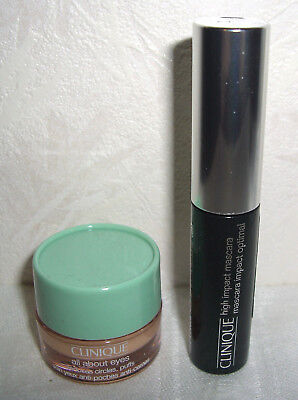 CLINIQUE Set All about Eyes + High Impact Mascara 01 Black Augen Creme 5 +3,5 ml
